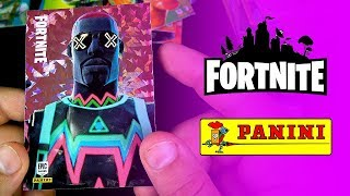 EPIC FORTNITE x PANINI COLLABORATION! Fortnite Trading Cards Packopening