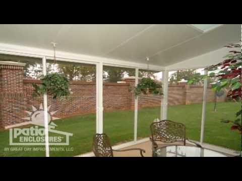 Screened In Porch Pictures For Ideas & Inspiration | Patio ... on Patio Enclosure Ideas  id=17117