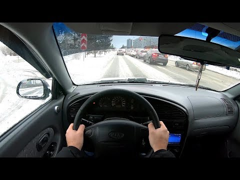 2008 KIA Spectra 1.6L (101) POV TEST DRIVE