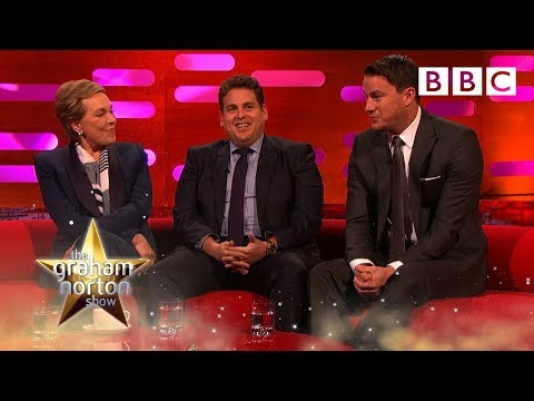 Julie Andrews and Channing Tatum compare nude s  The Graham Norton : Episode 8  BBC One