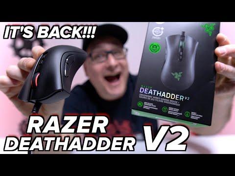 NEW Razer Deathadder V2, REVIEW & COMPARISON