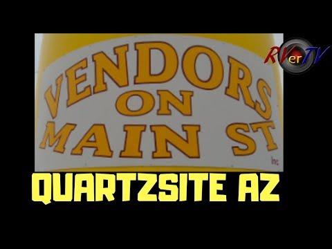 VENDORS ON MAIN STREET - Quartzsite AZ