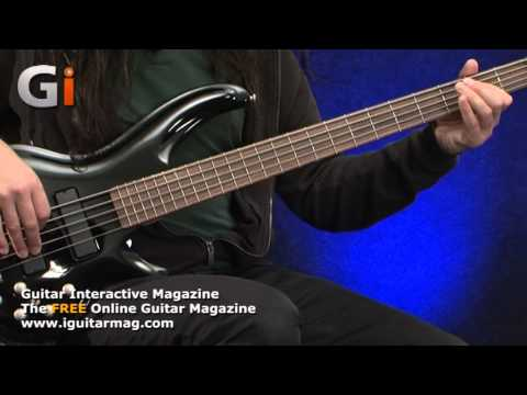 Cort Curbow 52 5-String Bass Review - Guitar Interactive Magazine - Issue 15