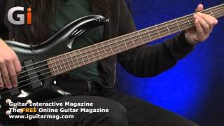 cort curbow 52 5 string bass review guitar interactive magazine issue 15