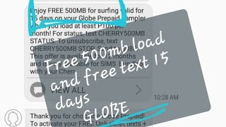 How to get 100 500 load everyday hack new tutorial 1000 pesos load