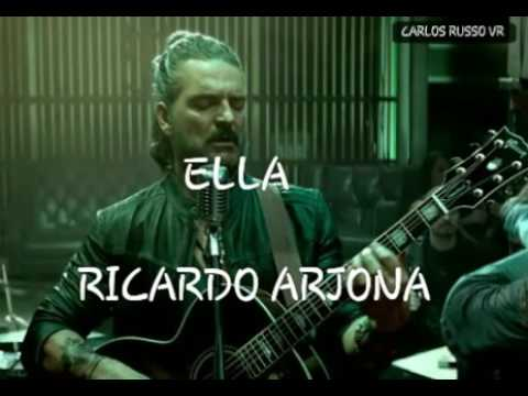 """""""Ricardo arjona"""" ella letra"""