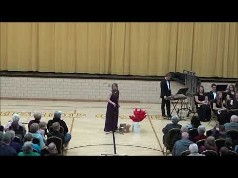 2018-2019 Bishop Garrigan High School Spring Band & Vocal Concert