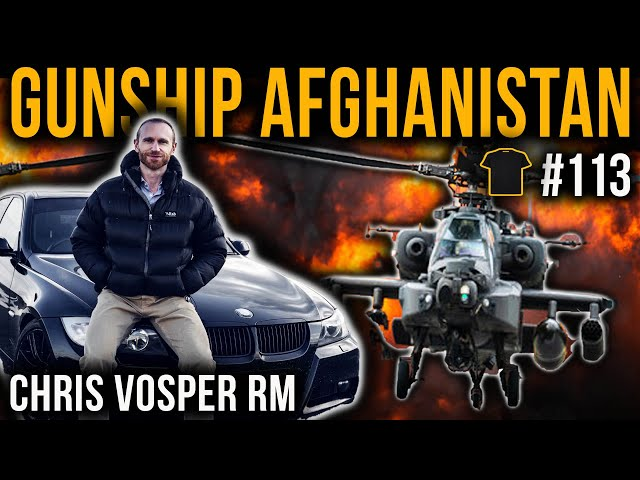 Commando Apache Attack Pilot | Afghanistan | Chris Vosper | Racing Driver | V-Force Combat Driving