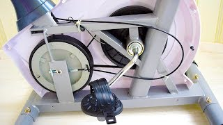 How Does a Magnetic Resistance Exercise Bike Work. Exercise Bike Disassembly