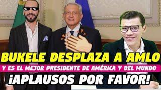 BUKELE DESPLAZA A AMLO EN RANKING DE PRESIDENTES - SOY JOSE YOUTUBER