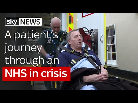 A patient's journey through an NHS in crisis