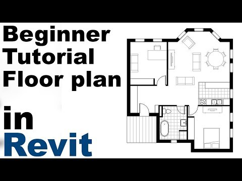 Revit Beginner Tutorial - Floor plan (part 1)