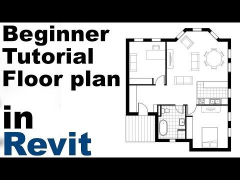 revit-beginner-tutorial---floor-plan-(part-1)