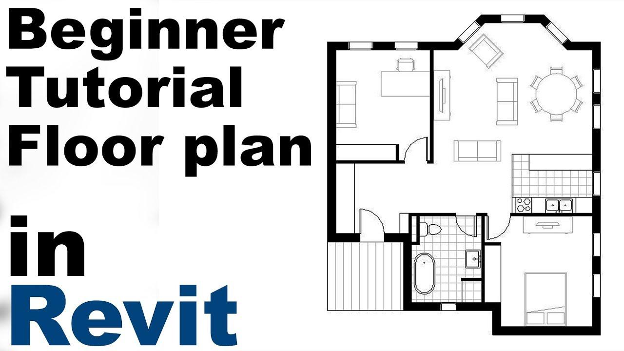 Revit Beginner Tutorial Floor Plan Part 1