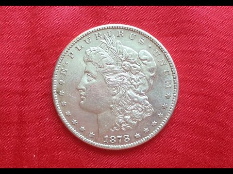 MORGAN SILVER DOLLAR 1878 - Mint San Francisco  - Доллар Моргана 1878 Серебро
