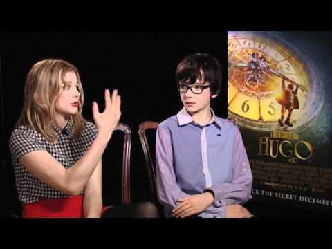 Asa Butterfield And Chloe Moretz   Hugo  Empire Magazine