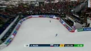 Video Tina Maze Gold Medal in SuperG at World Championships Schladming 2013 download MP3, 3GP, MP4, WEBM, AVI, FLV Agustus 2018