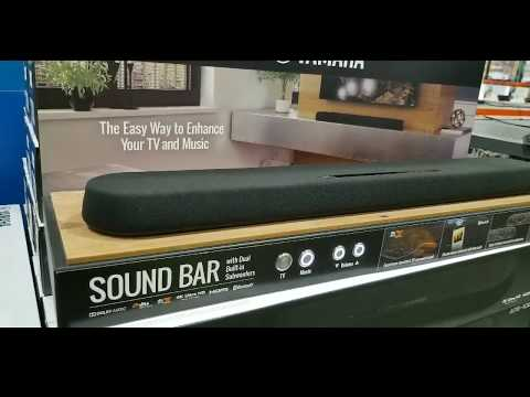 Costco! Yamaha ATS-108 Sound Bar w/ Built-in Subwoofers! $149!!!