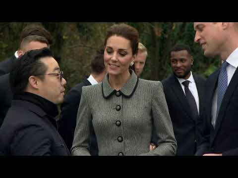 Duke and Duchess of Cambridge visit Leicester City - 5 News