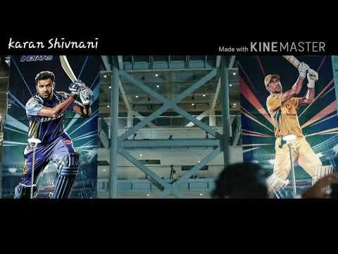 Csk vs mi ipl theme song lyrics by karan Shivnani