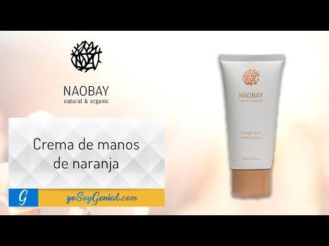 Crema de manos de naranja - Naobay   yosoygenial.com