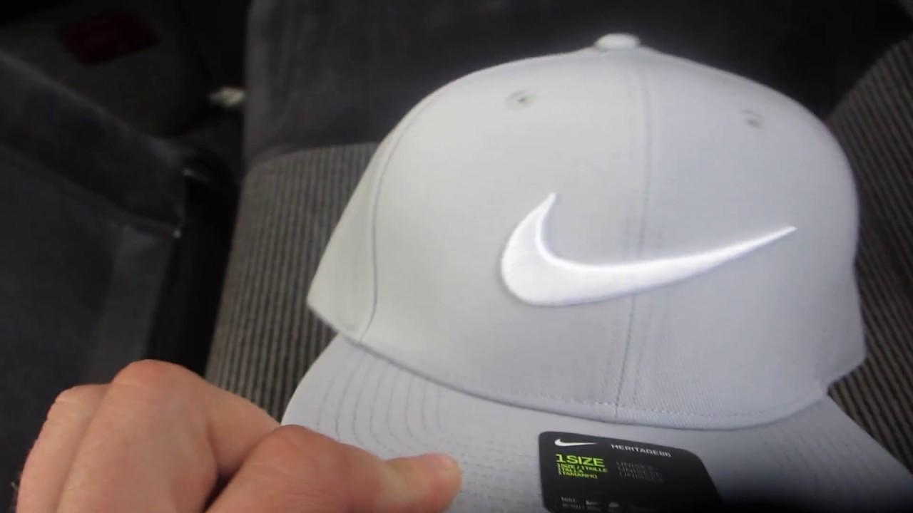 460a0627554 Кепка бейсболка (SnapBack) Nike Swoosh Pro - Blue - YouTube