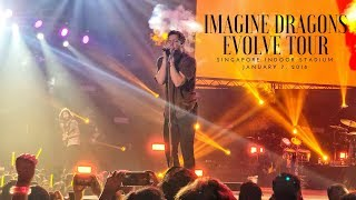 Imagine Dragons Evolve Tour Concert in Singapore