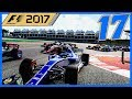 THIS IS OUR RACE!! |17/20| F1 2017 Sauber Career Mode Episode 17