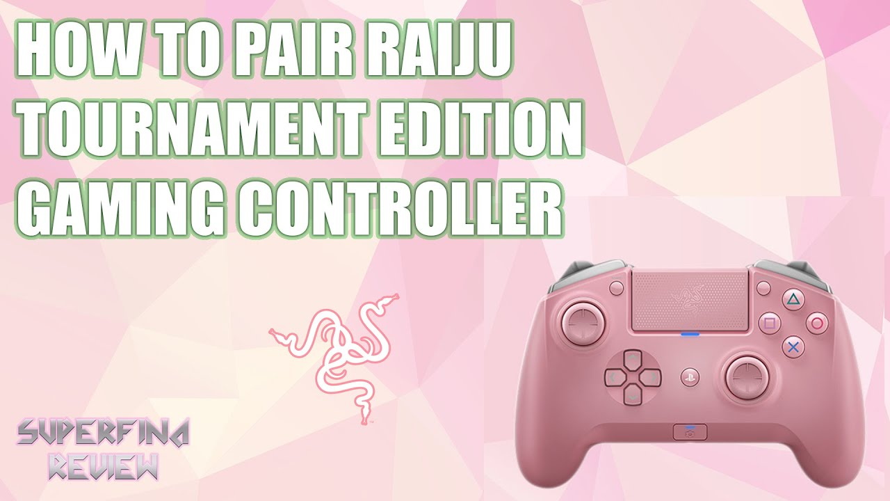 How to pair Razer's Raiju Gaming Controller