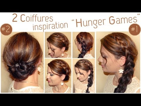 coiffure tresse hunger games