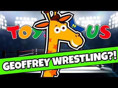 ⚠ NEWS: TOYS R US Geoffrey WRESTLING DEBUT!
