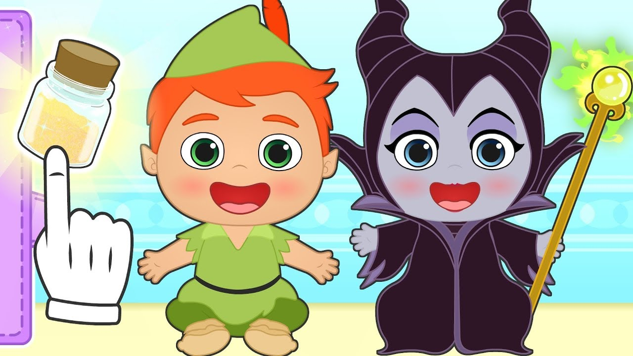 baby-alex-and-lily-dress-up-as-maleficent-cruella-de-vil-pocahontas-frozen-ariel-and-more