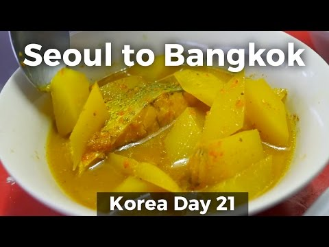 Food Fail and Home Cooked Thai Food in Bangkok (Day 21)