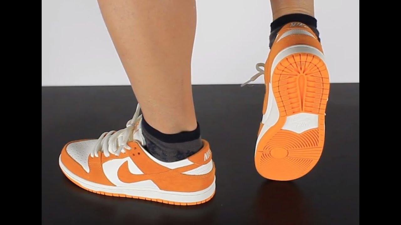 NIKE SB DUNK LOW PRO circuit orange