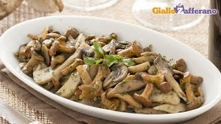 Sautéed Mushrooms - Recipe