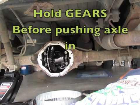 Rear Differential Fluid Change >> 1998 Rear Differential Replace Fluid Leak Change Dodge Ram ...