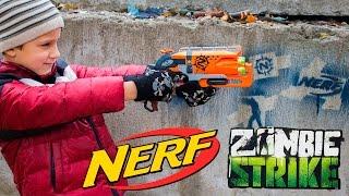 Nerf Zombie Strike Hammershot. Обзор бластера Зомби Страйк Хаммершот