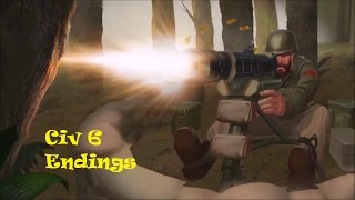 Civilization 6  - All Endings - All Victories and Defeat