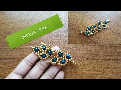 Hand Embroidery:Beads Work By Stitch BD Network