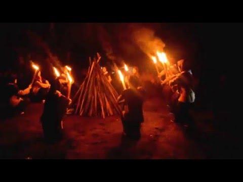 Pembacaan Dasa Darma PRAMUKA Penyalaan Api Unggun