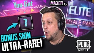MAXED S6 ELITE ROYALE PASS & SURPRISE CRATE OPENING - PUBG MOBILE