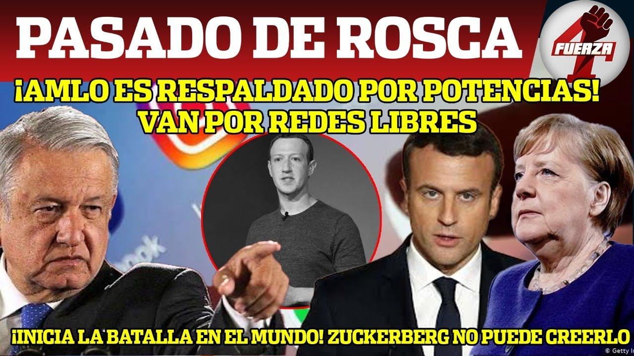 AMLO No Tiene Piedad! Inicia Batalla Mundial; Pone En Jaque A Machuchon D Facebook ¡Cortará Cabezas!