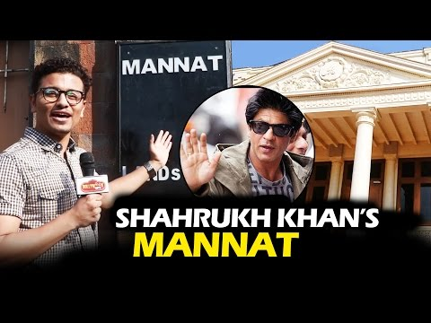Thumbnail: Shahrukh Khan's LAVISH Bungalow - MANNAT - Watch Video