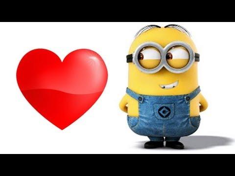 Minion enamorado - Imagui