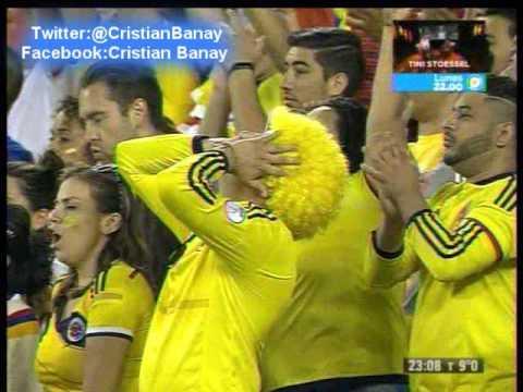 Colombia 0 Peru  0 (4-2) (Caracol Radio) Copa America Centenario 2016