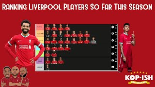 Liverpool's Season Player Ratings (So far) 20/21