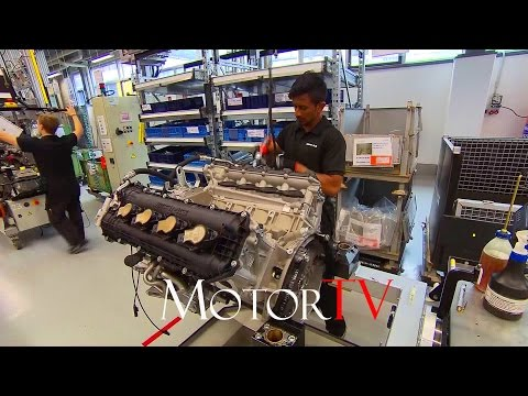 CAR FACTORY : MERCEDES-AMG V8 ENGINE ASSEMBLY l AFFALTERBACH