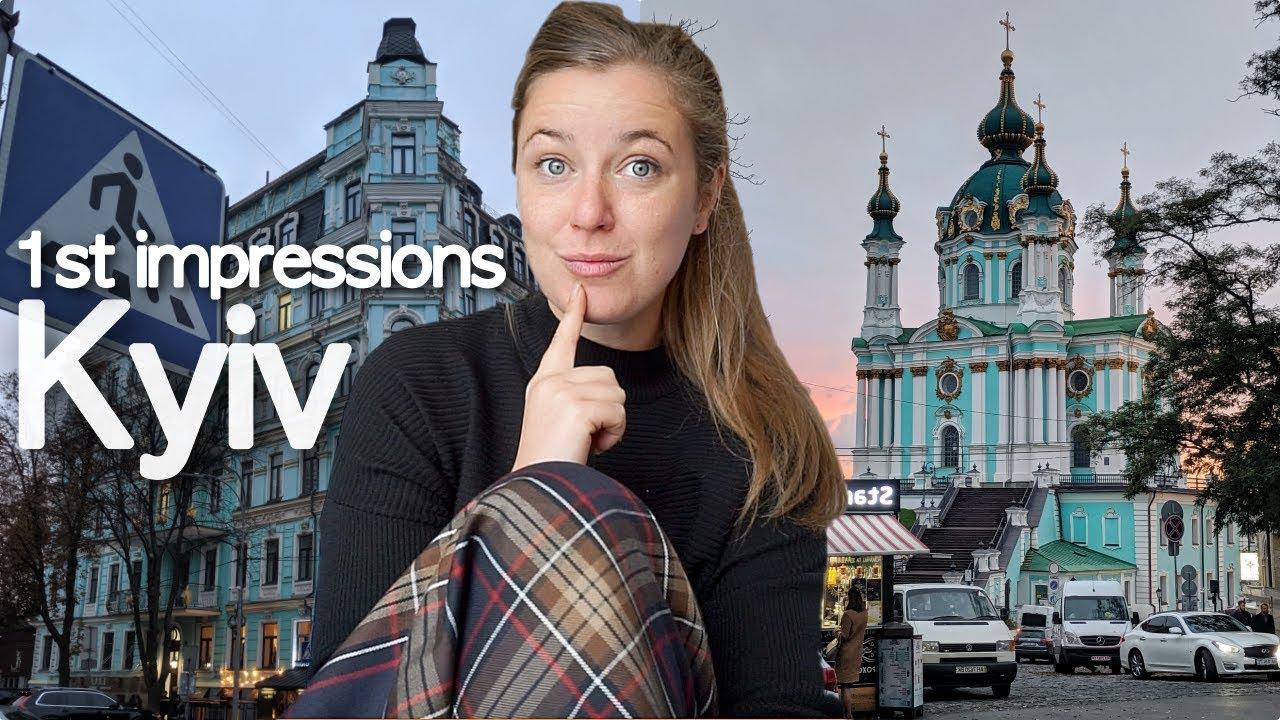 FIRST IMPRESSIONS OF KIEV (KYIV) | Ukraine Journey Vlog