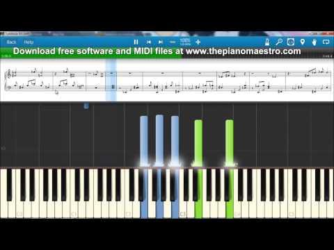 Piano : vanilla twilight piano chords Vanilla Twilight or Vanilla ...