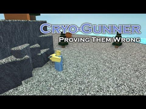 Cryo-Gunner: Proving Them Wrong   Tower Battles [ROBLOX]